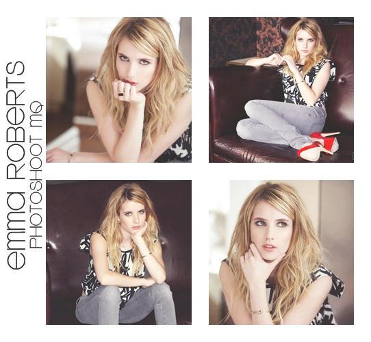 Emma Roberts Photoshoot O1 by Teeffy