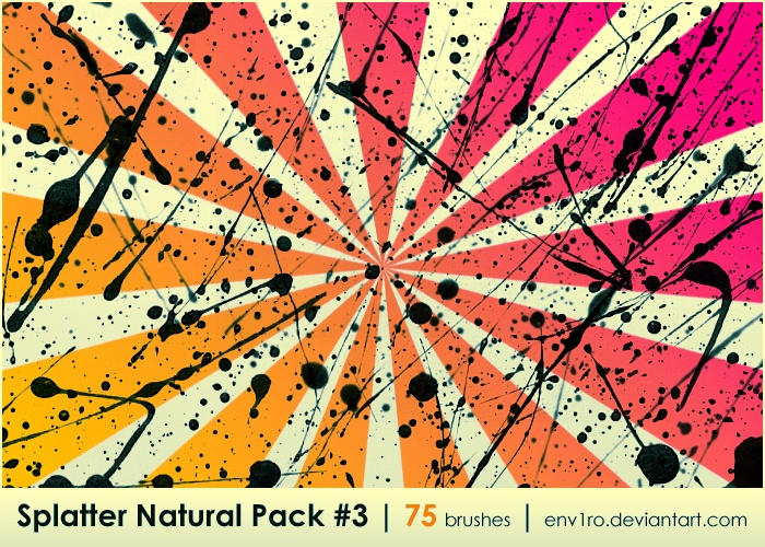 Splatter Natural Pack .3. by env1ro