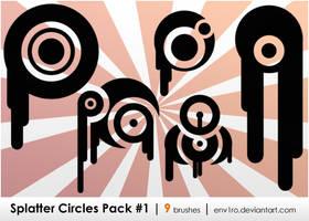 Splatter Circles .1. by env1ro