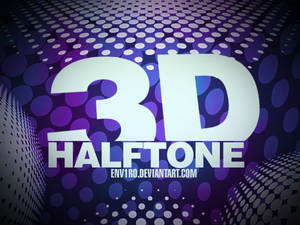 3D Halftone brushes