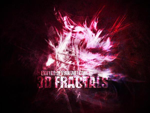 3D Fractals by env1ro
