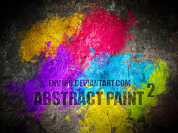 Abstract Paint 2 by env1ro