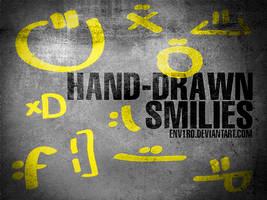 Hand-Drawn Smilies by env1ro