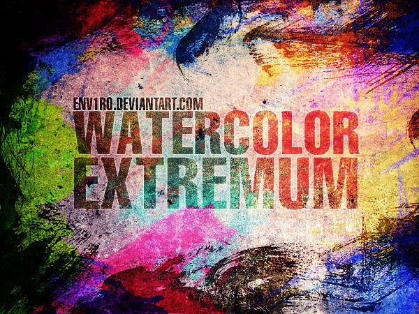WaterColor EXTREMUM by env1ro