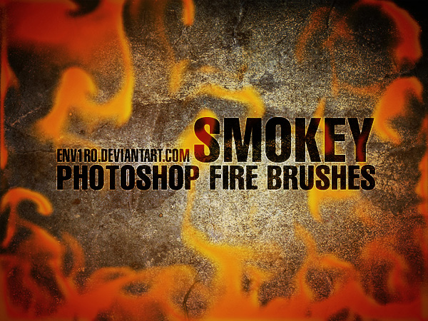 SMOKEY Fire Brushes by env1ro