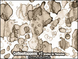 CoffeeHappens .1. Photoshop Brushes