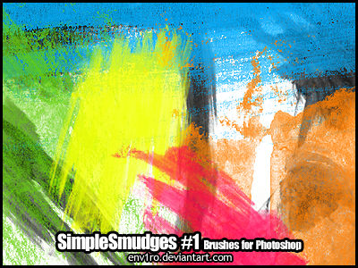 SimpleSmudges .1. Photoshop Brushes