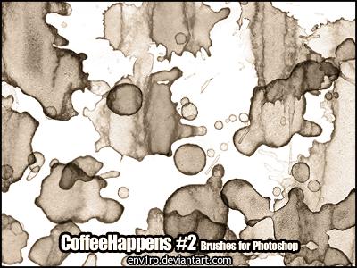 CoffeeHappens .2. Photoshop Brushes