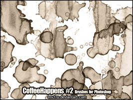 CoffeeHappens .2. Photoshop Brushes by env1ro