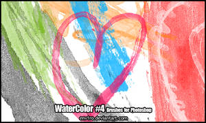 WaterColor .4. Brushes Pack by env1ro