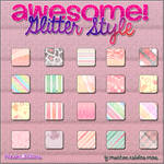 Glitter Style by, PinkSweetEditions