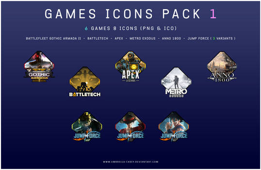 Games Icons Pack 1
