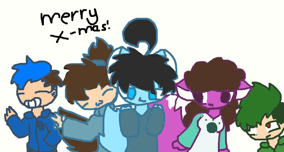Merry X-mas! by Freshtalefangirl