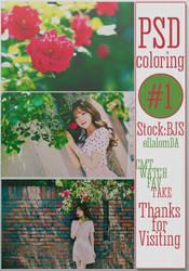 PSD Coloring #1 by ellalom