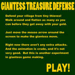 Giantess Treasure Defense Demo
