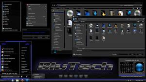 Windows 7 theme : BluTech