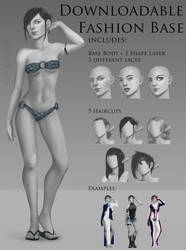 Downloadable Fashion Base (.psd)