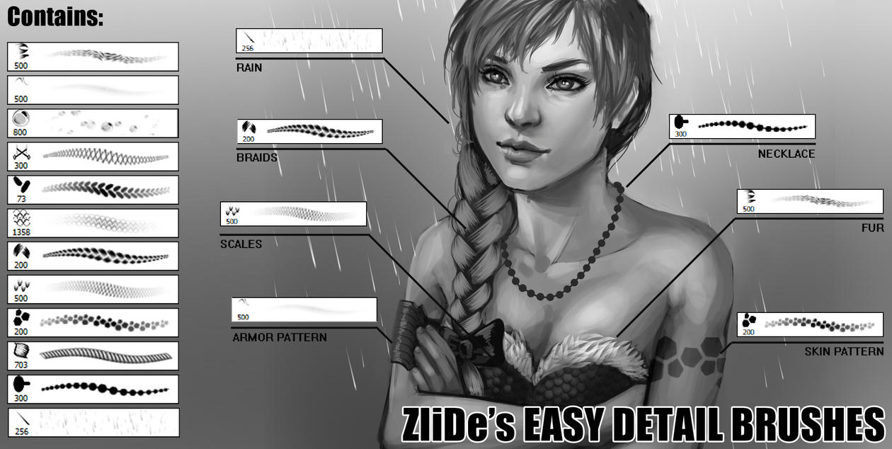 ZliDe's EASY DETAIL BRUSHES (v1.3) by ZliDe
