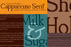 Cappuccino Serif Font 0.563 by keisans-bold