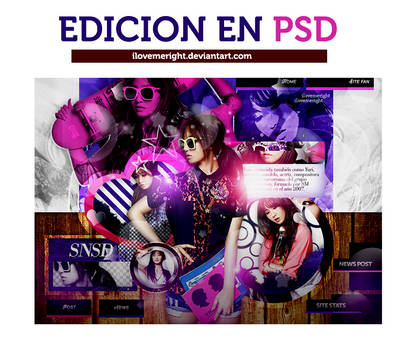 +EDICION EN PSD: Yuri