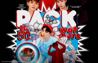 +PACK 1550 WATCHERS by iLovemeright