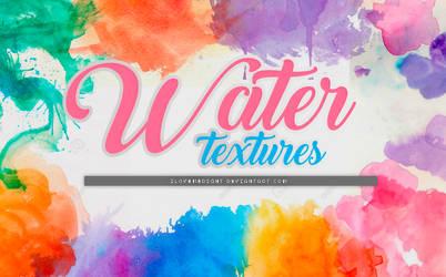 +WATERCOLOR|PACK DE TEXTURAS by iLovemeright