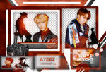 +ATEEZ (TREASURE EP 2: ZERO TO ONE) |PACK PNG |2O8