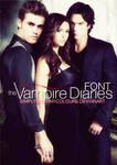 Vampire Diaries Font TV SERIE