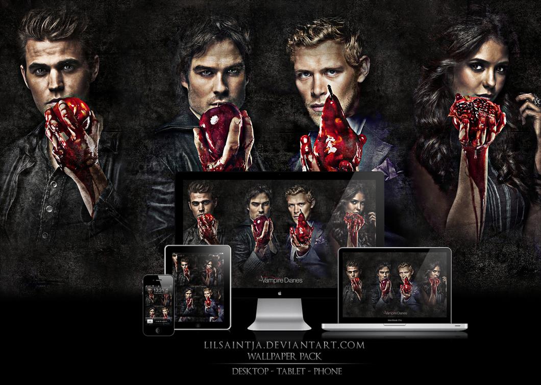 Vampire diaries wallpaper pack 1 by lilsaintja on deviantart vampire diaries wallpaper pack 1 by lilsaintja voltagebd Gallery
