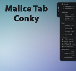 Malice Tab Conky
