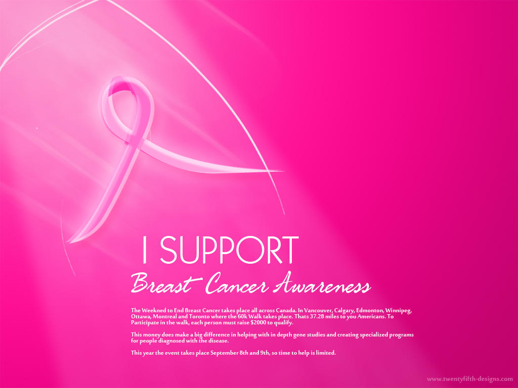 Breast Cancer Awareness Wall2 By Peterifranco