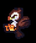 Owl Pixel Sprite by DevSapo