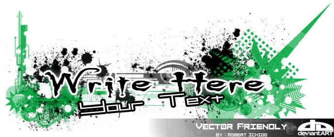 Frindly Vector by RobertIchigo