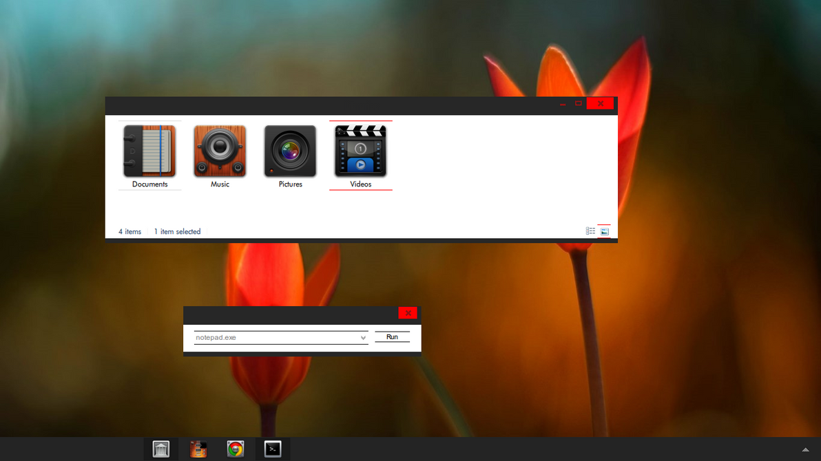 Incomplete Theme for Win8
