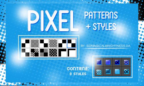 Pixel Patterns+Styles  by SoMagicalBrightness