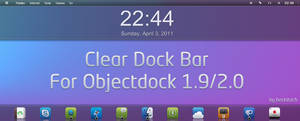Clear dock bar