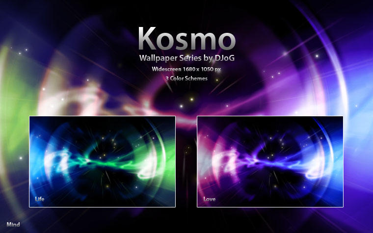 Kosmo Wallpaper Series by djog