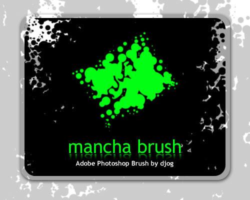 mancha brush by djog