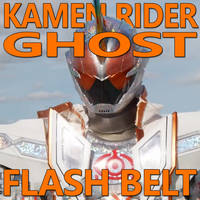 Kamen Rider Ghost Flash Belt 1.5 by CometComics