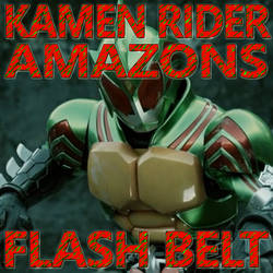 Kamen Rider Amazons Flash Belt 1.11 by CometComics
