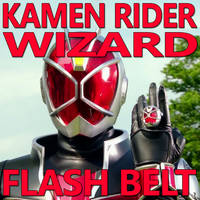 Kamen Rider Wizard Flash Belt 1.2 by CometComics