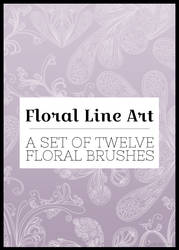 Floral Lineart Brushes