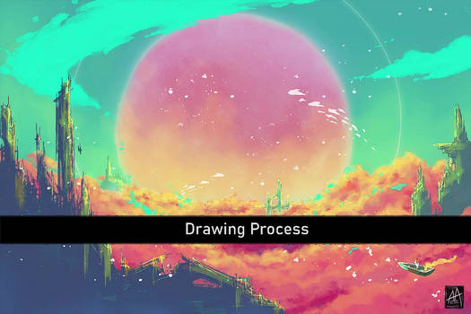 Drawing Process of After Life