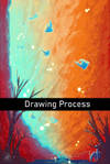 Drawing Process of Path Through The Canyon