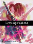 Drawing Process of Himura Kenshin