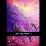 Drawing Process of Serene Shark