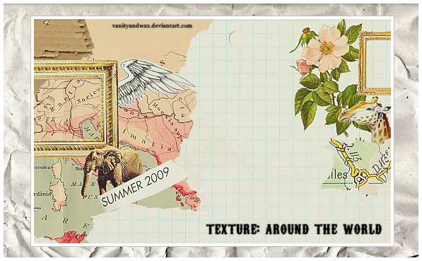 Texture: Around The World by vanityandwax