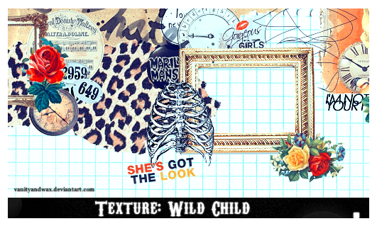Texture: Wild Child by vanityandwax