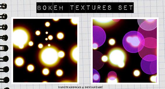 Bokeh And Lights Texture Set 2 by vanityandwax