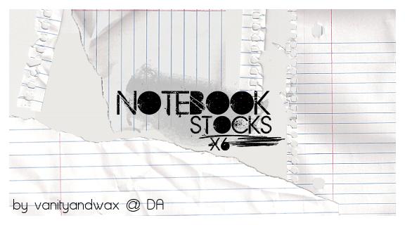 Notebook Stocks 001 x6 by vanityandwax
